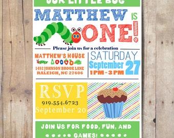 1st Birthday Party Invitation, Birthday Invitation