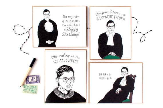 Ruth Bader Ginsburg Cards - Boxed Set