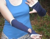 Banded Gauntlets - mid-length arm warmers