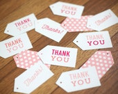 SALE Baby Thank You Gift Tags, 12 Pack, Boy or Girl