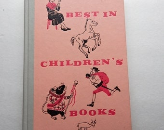 1960 Best in Children's Books illustrated by Robin Jacques, Idellete Bordigoni and others