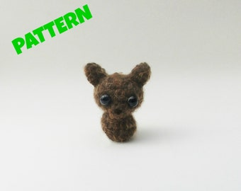 Werewolf Crochet Pattern / Wolf Pattern / Crochet Halloween Pattern / Halloween Doll Pattern / Crochet Amigurumi Pattern / Kids Patterns