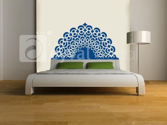 Dreams Headboard Decal- twin, double, full, queen, king-  dorm room, bedroom sticker