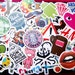 LIMIITED TIME price cut! 100 PCS Random Mixed Matte Laptop Skateboard Guitar Decoration Graffiti Stickers Pack Lot 100 pieces