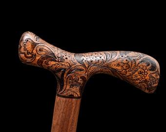 Make to Order - Paisley Walking Cane