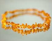Baltic amber teething necklace - baby necklace - baby teething necklace - healing amber - natural teething amber - baltic amber necklace