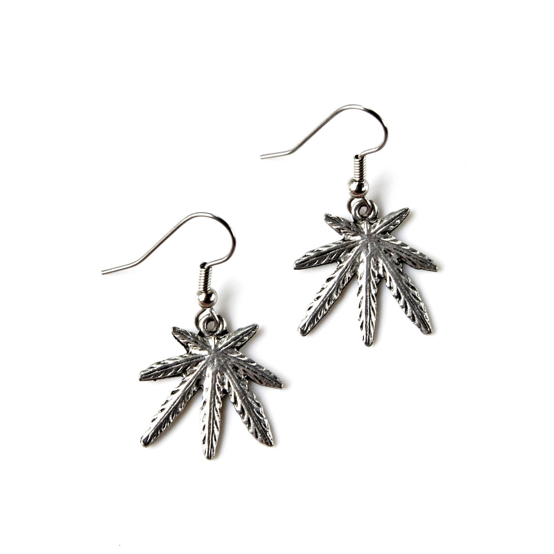 marijuana earrings accessories s jewelry gift