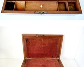 Antique Victorian Travel Lap Desk