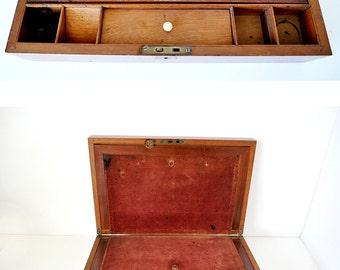 Antique Victorian Travel Lap Desk