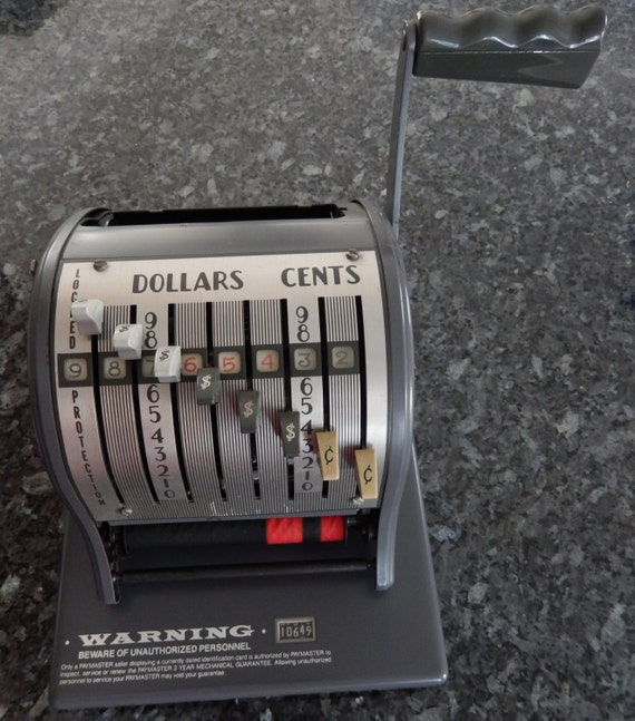 payroll machine