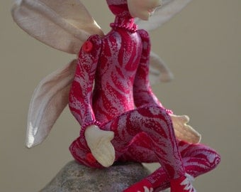 Fairy Art Doll, OOAK, Loxie