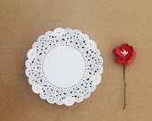 "Paper Doilies 3.5"" - Set of 40"