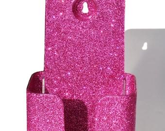Bling Brochure Holder.  Glitter.  Sparkly.  Sparkles.
