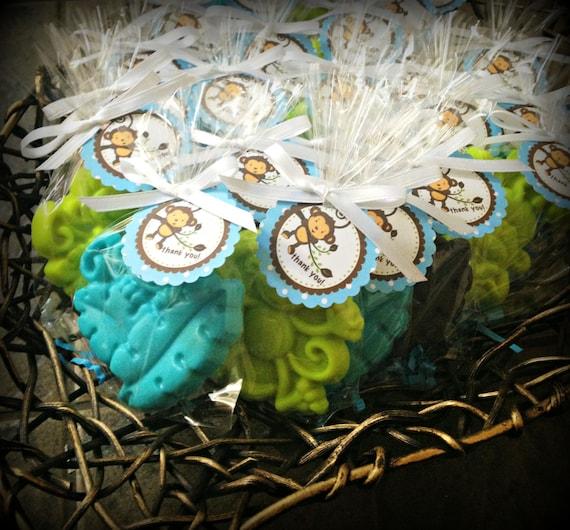 25 monkey soaps favors mod monkey birthday favor baby shower