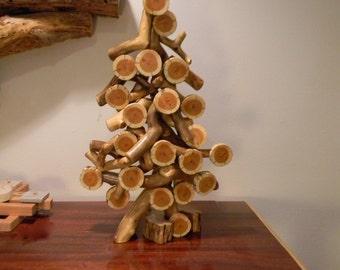 Tree sculpture - Christmas tree - Rustic tree