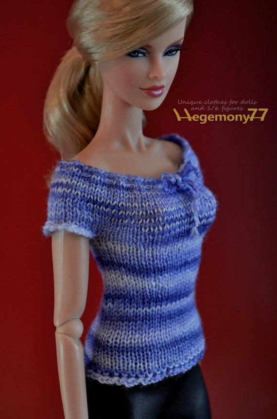Hand Knitted Dolls Clothes Patterns