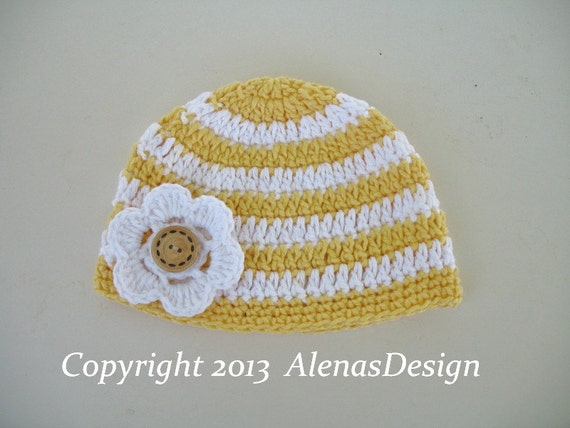 Crochet Beanie Pattern Striped : Crochet Pattern 097 Crochet Hat Pattern Crochet Stripe