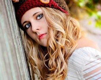 Womens Crochet Hat, Flapper Hat, Cloche, Womens Fashion, Fall Fashion