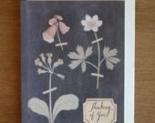 Card- Pressed Flowers