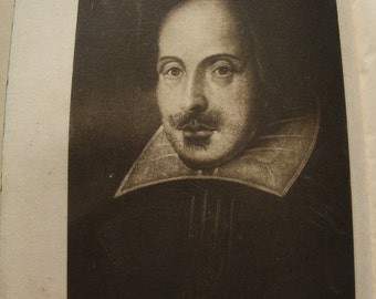 1899 A Life of William Shakespeare book by Sidney Lee