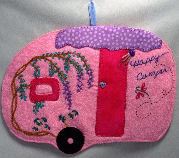 Happy Camper 23 Mug Rug