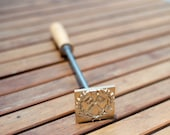 DHL (1-2 wk Days) Custom Wood Branding Iron with Wooden Handle