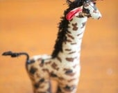 On Kenyan Safari - Giraffe - Support a Good Cause