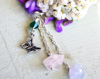 Butterfly Miscarriage Necklace, Baby Loss Butterfly Necklace, Pregnancy Loss, Healing