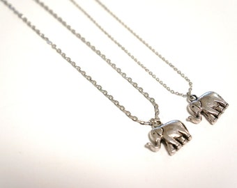 Elephant Necklace Cougar Town Necklace Courtney Cox Elephant Necklace