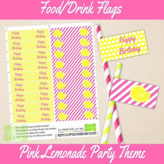 Diy Drinks Food Printables: With Envy Parties's Party Supplies