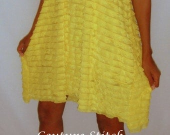 Ruffled Tunic Flowy dress