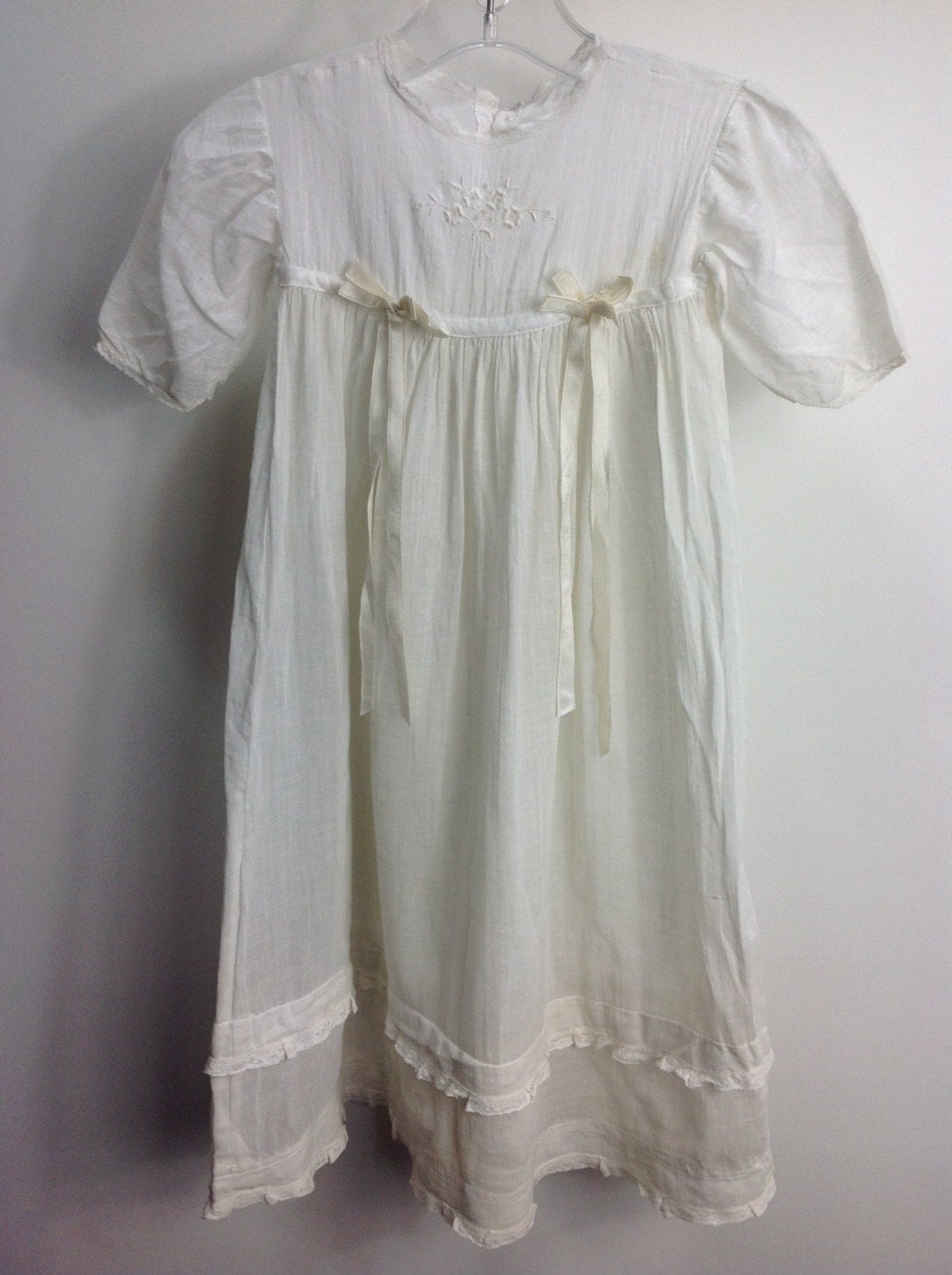 Antique Christening Gown Antique Baby Clothing Vintage