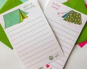 Personalized Camp Stationery Personalized Notepad & Envelopes Camp Stationary Boy Stationery Girl Stationery Camp Notepads Kids Statione