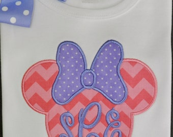 Miss Mouse Shirt / Personalized / Disney Trip
