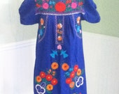 Mexican Embroidered Baby Doll dress