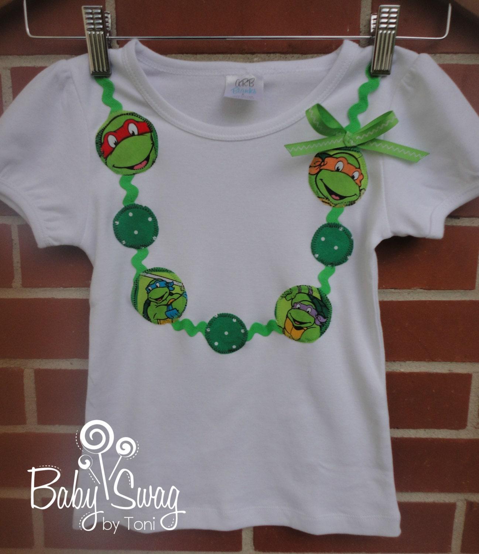 Girls Shirt Teenage Mutant Ninja Turtle Shirt By