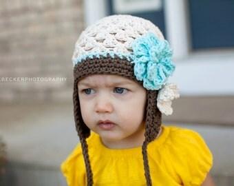 toddler girl hat, baby hat, girls hat, crochet girls hat, crochet hat for girls, girls hat