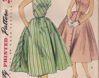 1950s Sleeveless Day or Party Dress Simplicity 1164 Size 14 Uncut