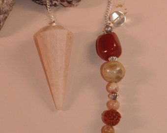 Dowsing Pendulum Divination Agate Butterfly New Age Pagan Magick Wicca 146640P