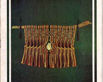 Creations in  Macrame Pattern Book  / A Turk's Head Book PP-14
