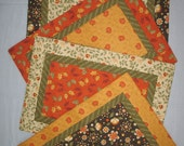 Placemats for the Holidays/Fall Placemats/Set of 4 Placemats