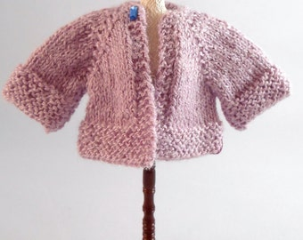 Hand Knitted Sweater, 1 inch Scale Dollhouse Miniature
