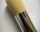"100% Pure 1"" Bristle Wax Brush, Wax Brushes, Chalk Paint Brushes, Furniture Wax, Sealing Wax, Chalk Painted Furniture, Shabby Chic Furniture"