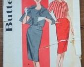 "1960's Butterick Dress and Jacket pattern - Bust 38"" - No. 9313"