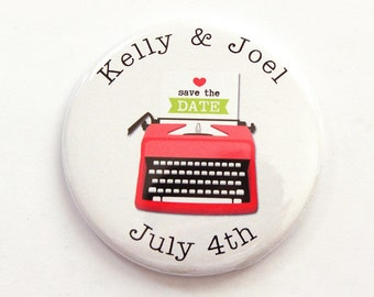 Save the Date, Wedding Save the Date, Wedding Announcement, Getting Married, Save the Date Magnet, Magnet, Custom, Personalized (3775)