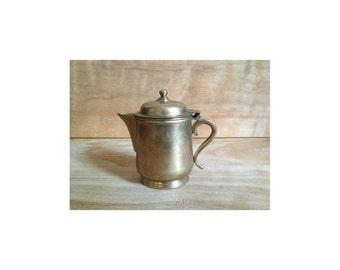 Vintage Brass Creamer - Mid Century Metallic
