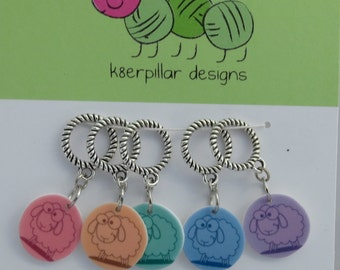 Sheep of a Different Color  - Snagless Stitch Markers