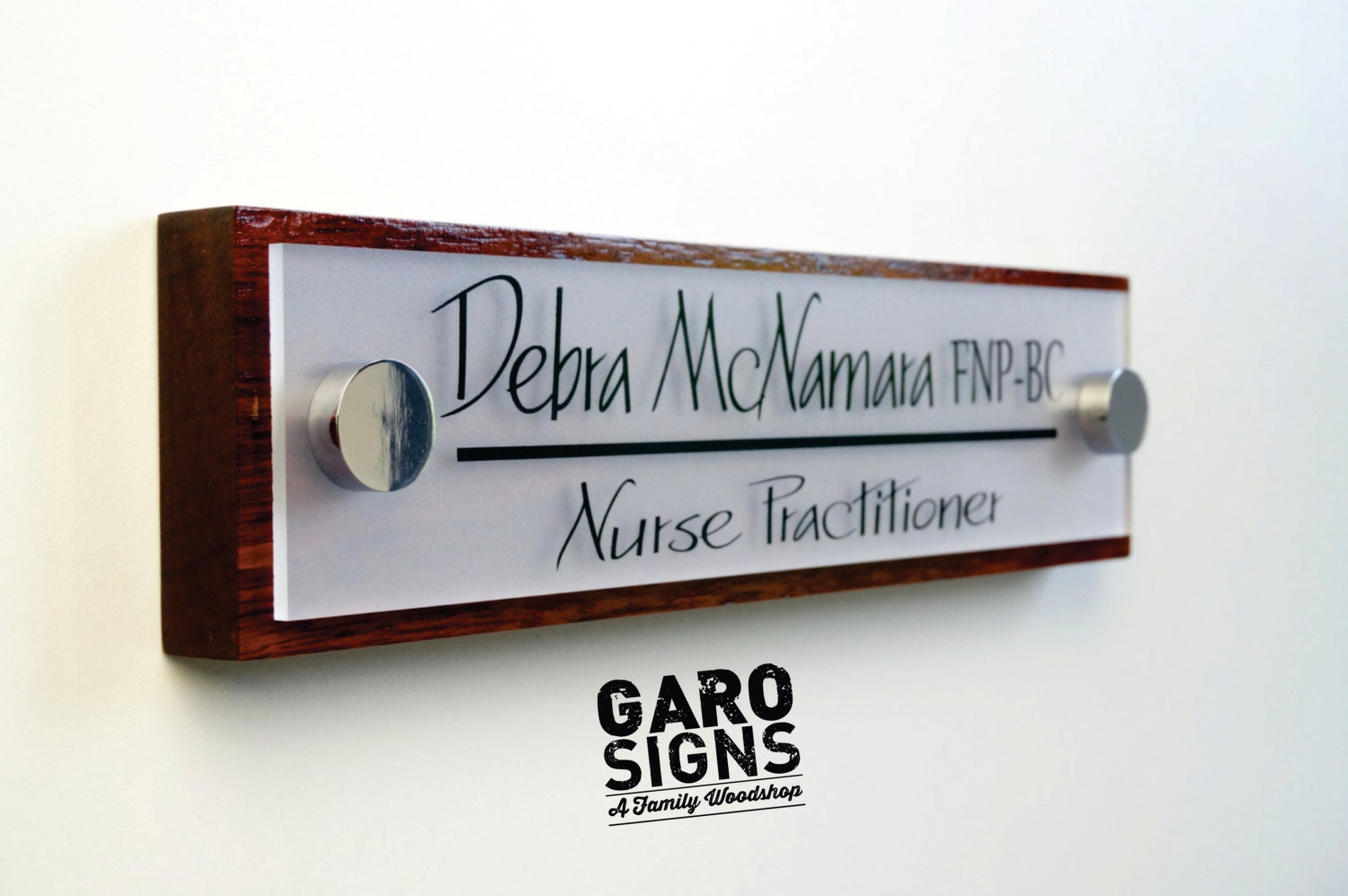 Office door sign professional personalized wood sign gift 10 for Door name signs