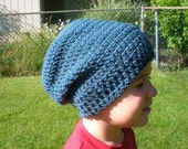 PATTERN: 3 in 1 hat pattern, Slouch Hat, Kids and Toddler Size, Unisex slouchy beanie, crochet P D F, InStaNT DoWNLOAD Permission to Sell