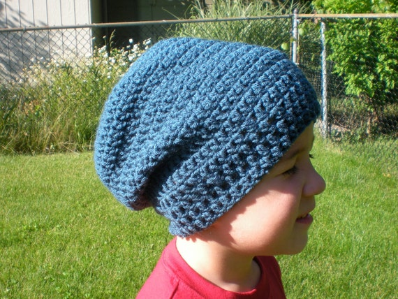 PATTERN: 3 in 1 hat pattern Slouch Hat Kids and Toddler